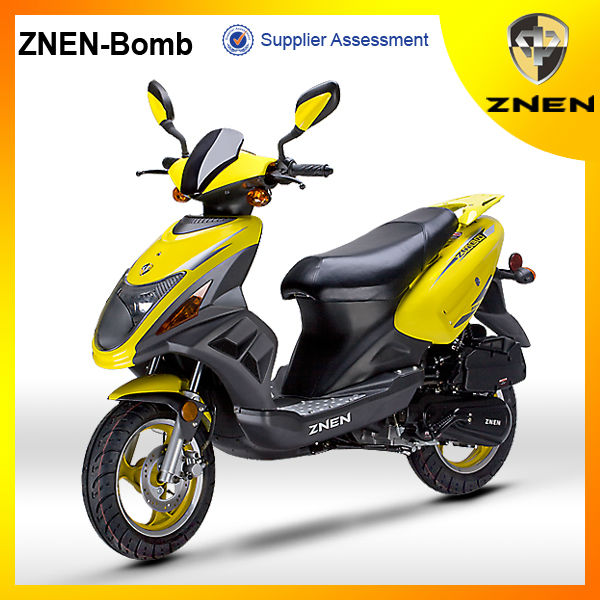 2017 ZNEN MOTR Cheapest Scooter 50CC Moto Engine Motorcycle Part Bicycle On The Gasoline