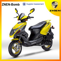 ZNEN MOTR Cheapest Scooter 50CC Moto Engine Motorcycle Part Bicycle On The Gasoline