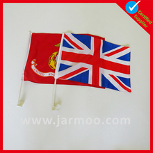 High quality custom made public gathering swing mini hand flags