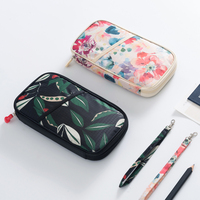 Original Design Floral Passport Bag, Beauty Polyester Credit Card Wallet