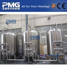 PMG-WT-15T high quality water treatment equipment for distilling water / UV lamp water filter