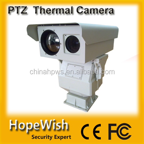10km IR surveillance IP thermal security camera