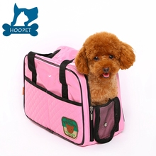 Pink and yellow shiny pu fashionable pet tote bag outdoor dog carrier bag