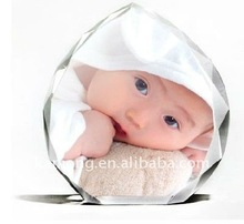 Lovely crystal image, crystal gift, crystal craft for house decoration