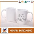 11oz plain white sublimation coffee mug / white ceramic mug for sublimation