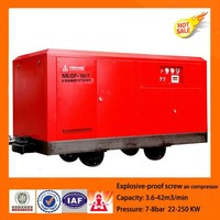China hot sale Explosion-proof screw air compressor for coal mining