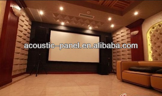high density pu foam soundproof panel acoustic foam wall panels for background