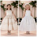sexy puffy flower organza bow-knot party girl dress