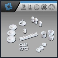 Hot sale Non Standard Machining machined Plastic PTFE Parts