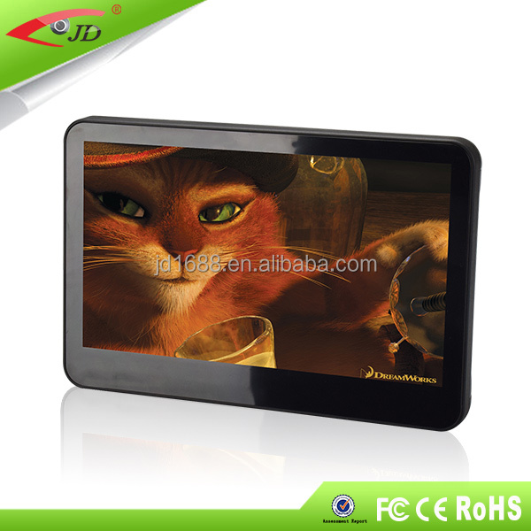 Economical 10.1 inch car android 5.1 touch screen headrest dvd player 2016