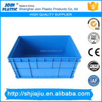 open folding box mini plastic crates without nestable lids supply by Factory with good quality