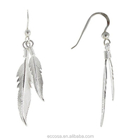 Exquisite 925 Sterling Silver Earrings Drops