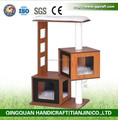 QQPET BSCI Factory OEM Modern Luxury Cat Tree Cat House