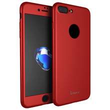 iPaky Original Ultra Thin 360 Full Body Protective Cover Phone Case for iPhone 6S/6S Plus/7 /7 Plus
