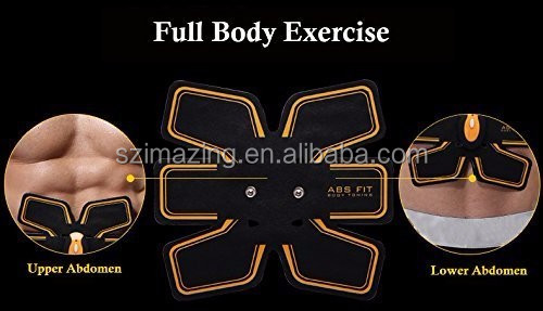 Wireless Electric Vibration Body Building Slimming Massager Belt Toner