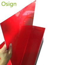 High glossy waterproof clear abs plastic sheet