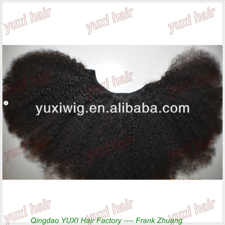 stock factory wholesale top quality afro textured hair
