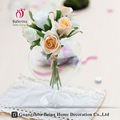 Hot Sale Wholesale heart-shaped decorative clear reversible flower mouth blown glass vase