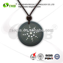 2013 THB anion fashion pendant with lava to release many negative ion