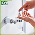 FLG stainless steel bathroom accessories wall mounted soap dispenser