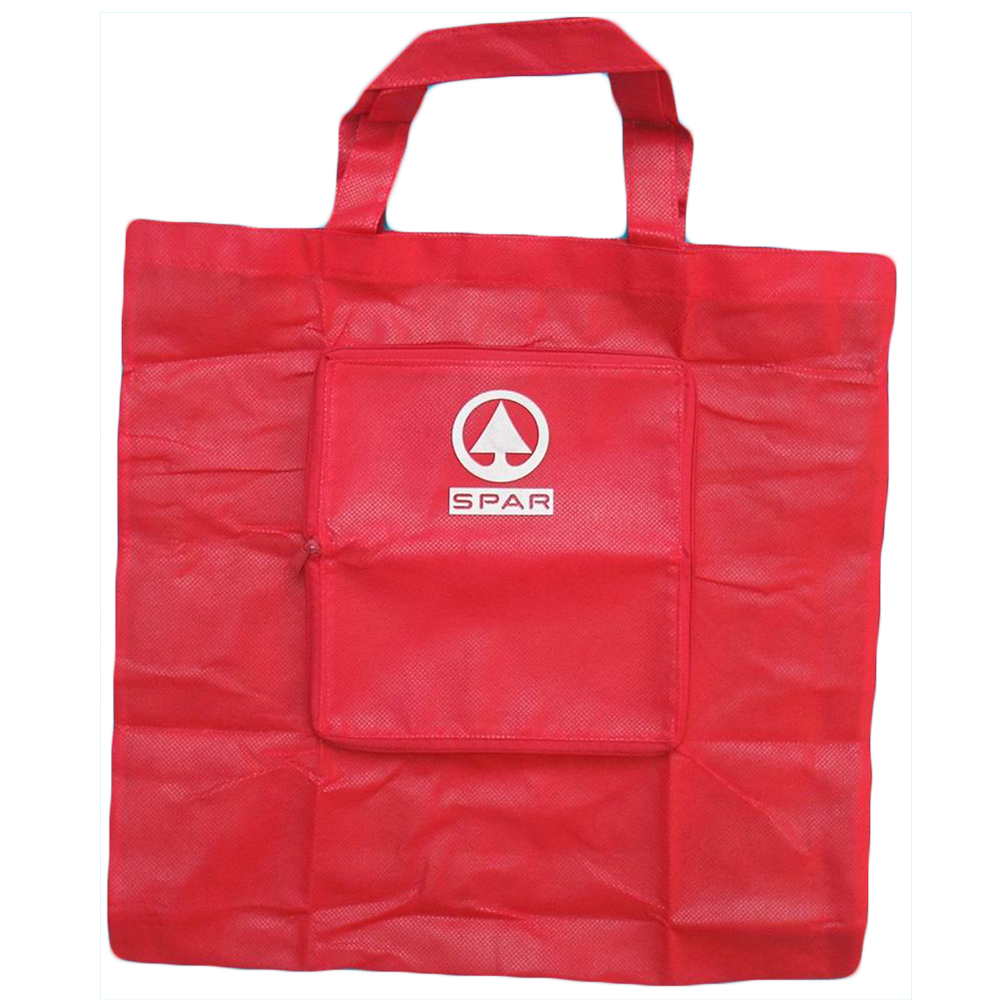 Large Foldable Grocery Shopping Tote Bag Non Woven