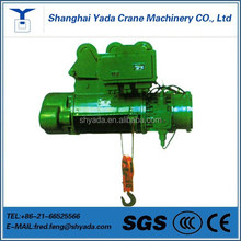 Explosion proof electric hoist with cable and trolley