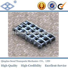 10B-3 DIN standard B series stainless steel short pitch precision transmission triple roller chains