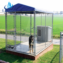 Professional factory direct sale classic double galvanized outdoor dog run kennel panels
