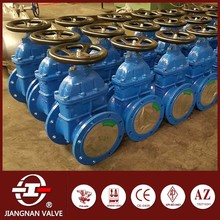 manual slide gate valve flow control food grade DIN3352