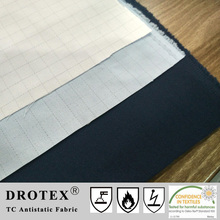 Antistatic Material, TC 65/35 Lightweight Drill Fabric