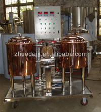 Homebrewing equipment,50L Home beer and wine making steam jacket brew kettle