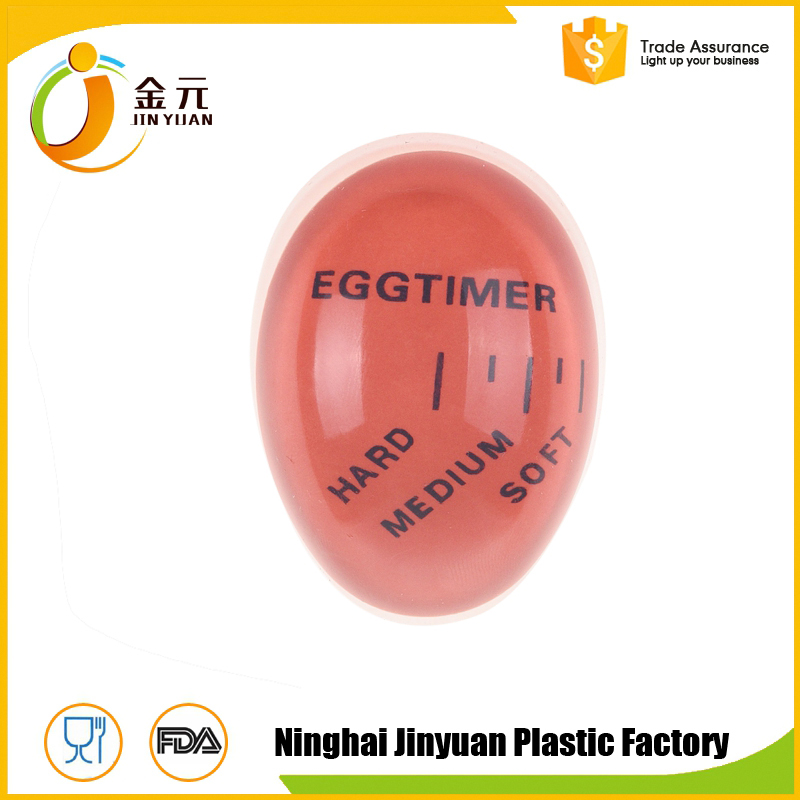 2017 high quality factory supply Resin Orange/Green/Yellow/Customized egg thermometer egg timer