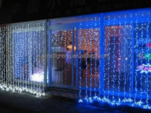 color changing led christmas curtain lights