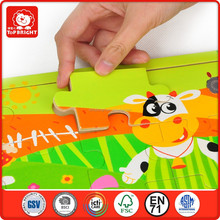 New kids toys for 2014 toys 3d wooden jigsaw puzzle happy toys for kids
