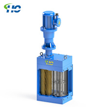 CE certificated single drum wastewater grinder for Sewage pumping station