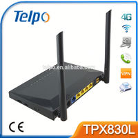 Telpo good low cost wireless router TPX820 4 lan 1wan wireless router