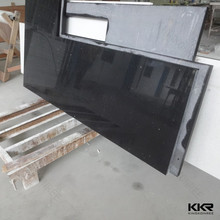 Acrylic solid surface black slate counter top