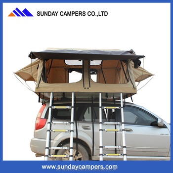 4x4 Accessories off-road large car roof top tent for family camping