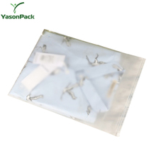 Clear Stand Up Hdpe Plastic Biodegradable Muslin Garment Poly Transport Packing Bag