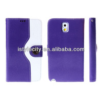 Flip Wallet Stand PU Case for Samsung Note 2, N7100