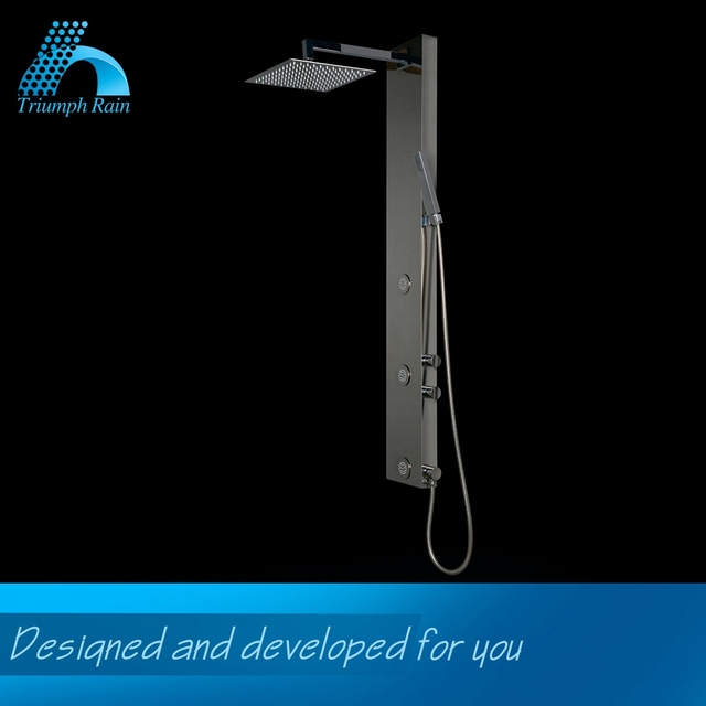 Premium Quality Nice Design Stainless Steel Wall Shower Panel Bathroom Accessories China