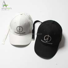 customize 100% cotton fabric street hip hop hats wholesale multi-color custom logo 6 panel baseball caps and hats