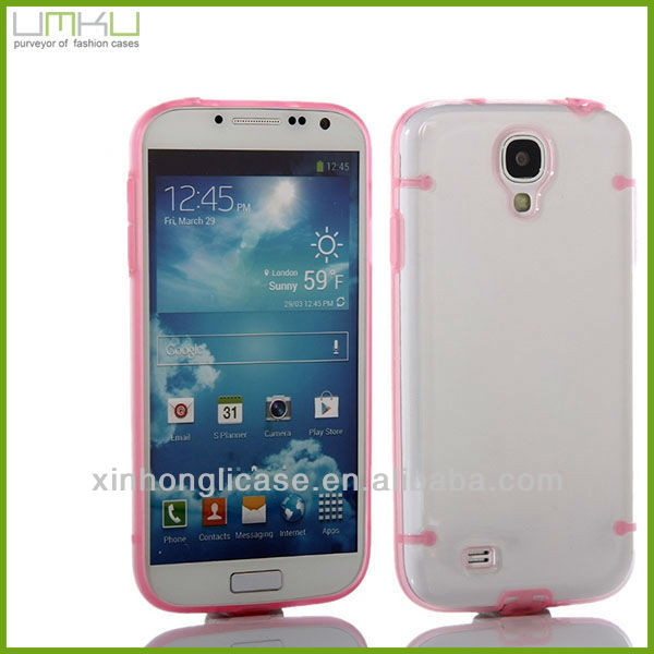 Promotion Gifts Light Up Phone Case for Samsuang GalaxyS4/I9500