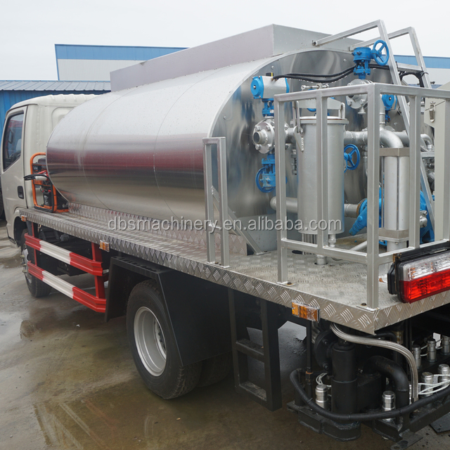 4000L Bitumen Spraying Truck Asphalt Spraying Truck