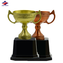 World cup plating silver football championship trophy