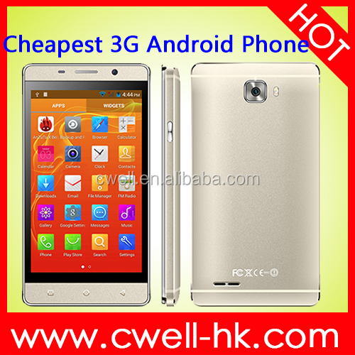 H-Mobile Mate S 4 inch MTK6572 Dual Core Android 4.4.2 Skype Download 3G WCDMA GSM Dual SIM Shenzhen Mobile Phone