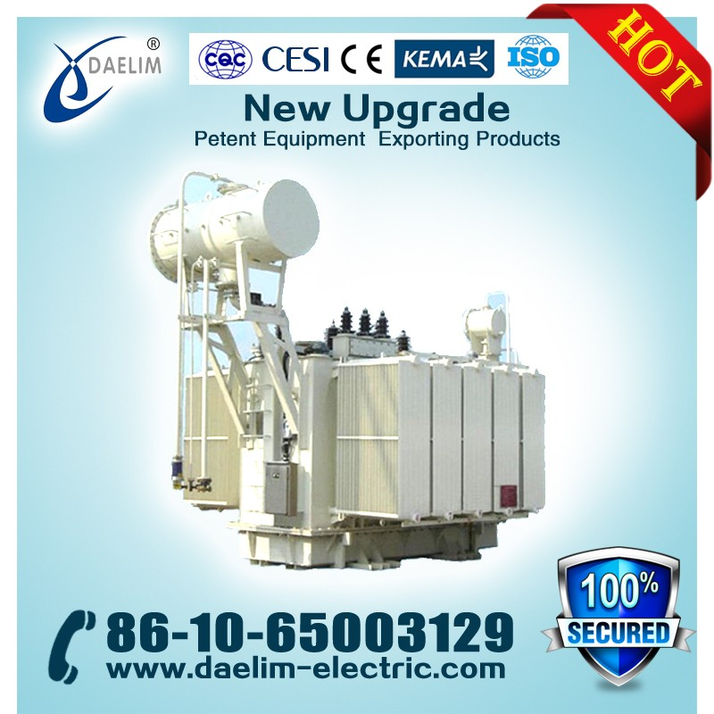 Price of Step Up Three Phase Transformer 110/35kv 30mva with Copper Winding