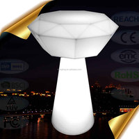 Modern design outdoor led table with high quality for family and hotel decoration lighting