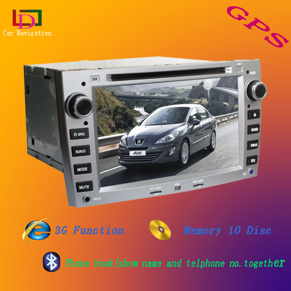 car gps for peugeot 407/408