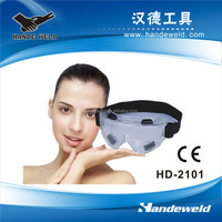 CE certificated Safety transparent skiing goggle